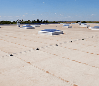 Modified bitumen low slope roofing replacement and installation