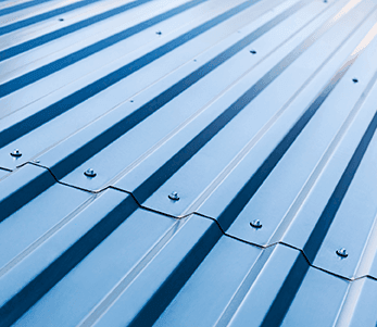 Sheet metal low slope roofing replacement and installation