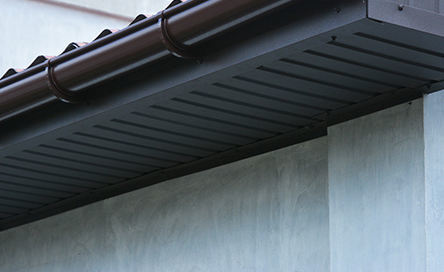 Architectural sheet metal for soffits