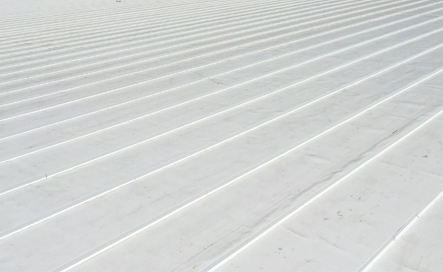 Commercial thermoplastic roofing replacement
