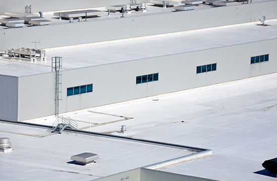 Thermoplastic Roofing for Commercial Building Milwaukee